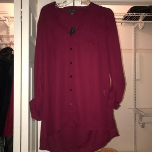 NWT The Limited Button Down